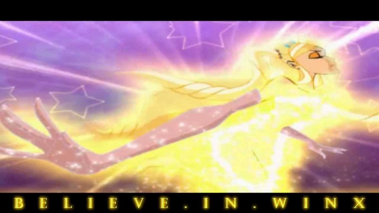 Winx Club Stella Enchantix Transformation Nick Dub Hd