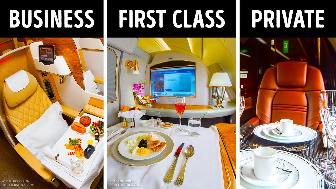 First Vs Business Class What S The Main Difference Youtube