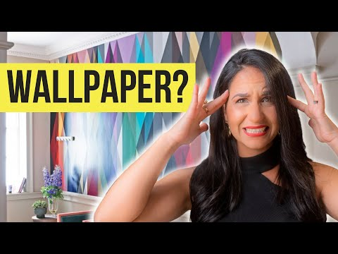 HOW TO SELECT WALLPAPER LIKE A PRO! Start to Finish INTERIOR DESIGN TUTORIAL, Wallpaper Design Ideas