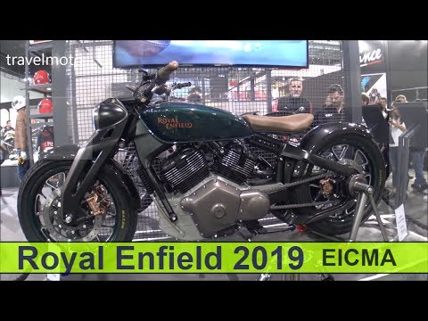 The new Royal Enfield 2019 motorcycles