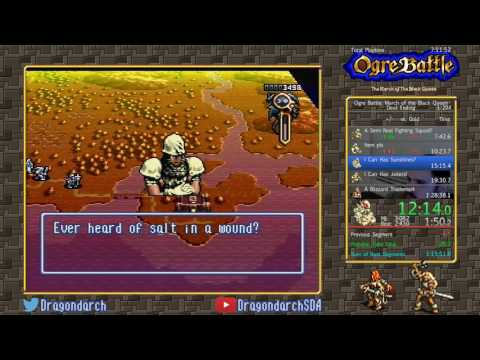 (SNES) Ogre Battle: The March of the Black Queen - Devil Ending in 1:16:27