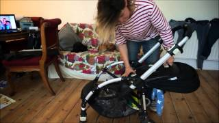 How to change the Bugaboo Bee from parent to outward facing and use as a travel cot Thumbnail