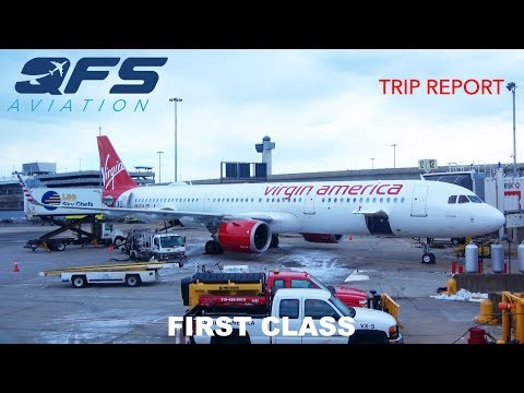 TRIP REPORT | Virgin America - A321neo - New York (JFK) to Los Angeles (LAX) | First Class