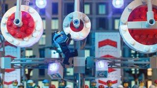 Jay and American Ninja Warriors Face THE BIG WHEEL! - LEGO NINJAGO