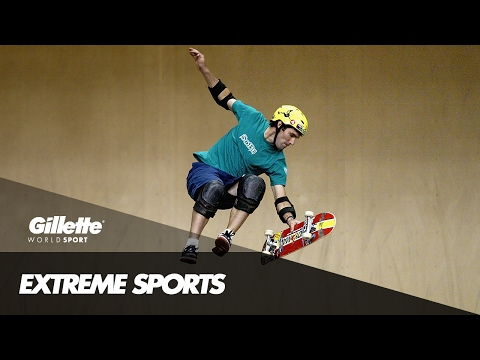 The Art of Skatercross with Andy Macdonald | Gillette World Sport
