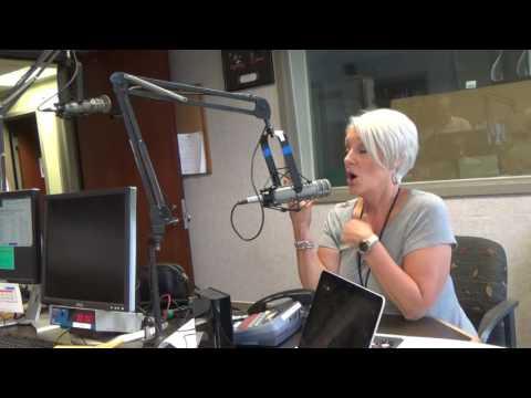 Cleveland radio personality Robin Swoboda