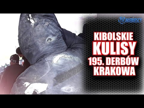 Kibolskie kulisy 195. Derbów Krakowa okiem TV Niebiescy (13.12.2017 r.)