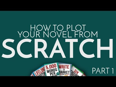 How to Plot a Novel From Scratch Part 1