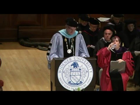 2015: Full Commencement Widener Law Harrisburg