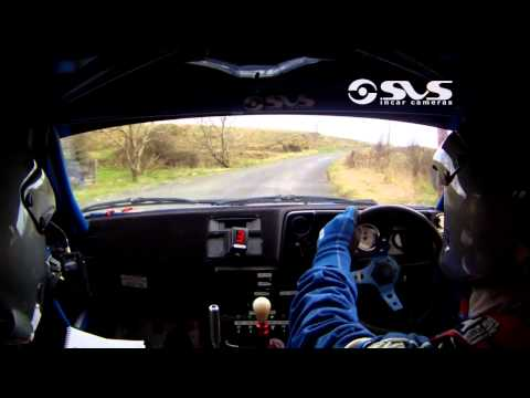 2014 Midland Moto Stages Rally - Patrick Boyle & Donal McCole - Stage 8