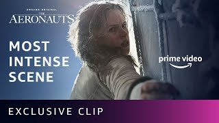 Felicity Jones' Most Intense Scene in The Aeronauts