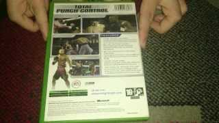 Nostalgamer Unboxes EA Sports Fight Night 2004 On Microsoft Xbox UK PAL System Version