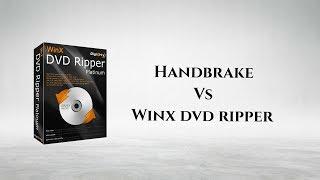 Best DVD Ripper app | WinX dvd ripper vs Handbrake | Free #GIVEAWAY