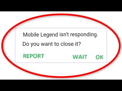 How To Fix Mobile Legends Isn't Responding Android || Fix Mobile Legends Not Open Problem Android