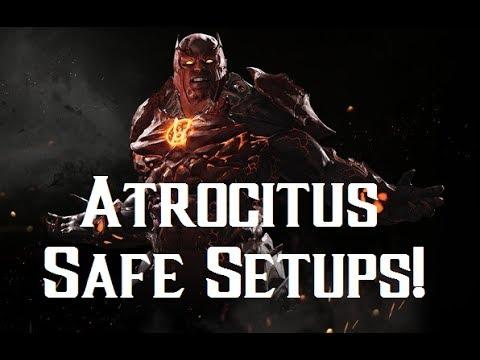 Injustice 2 Atrocitus Guide - Safe Dex-Starr and Life Drain Setups!