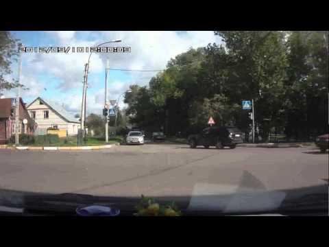 Авария пушкарская- карла маркса(Тамбов).mp4