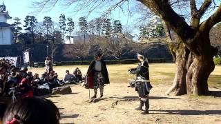 名古屋城に織田信長と徳川家康がフリートークをしてた!! 徳川慶朝 検索動画 21