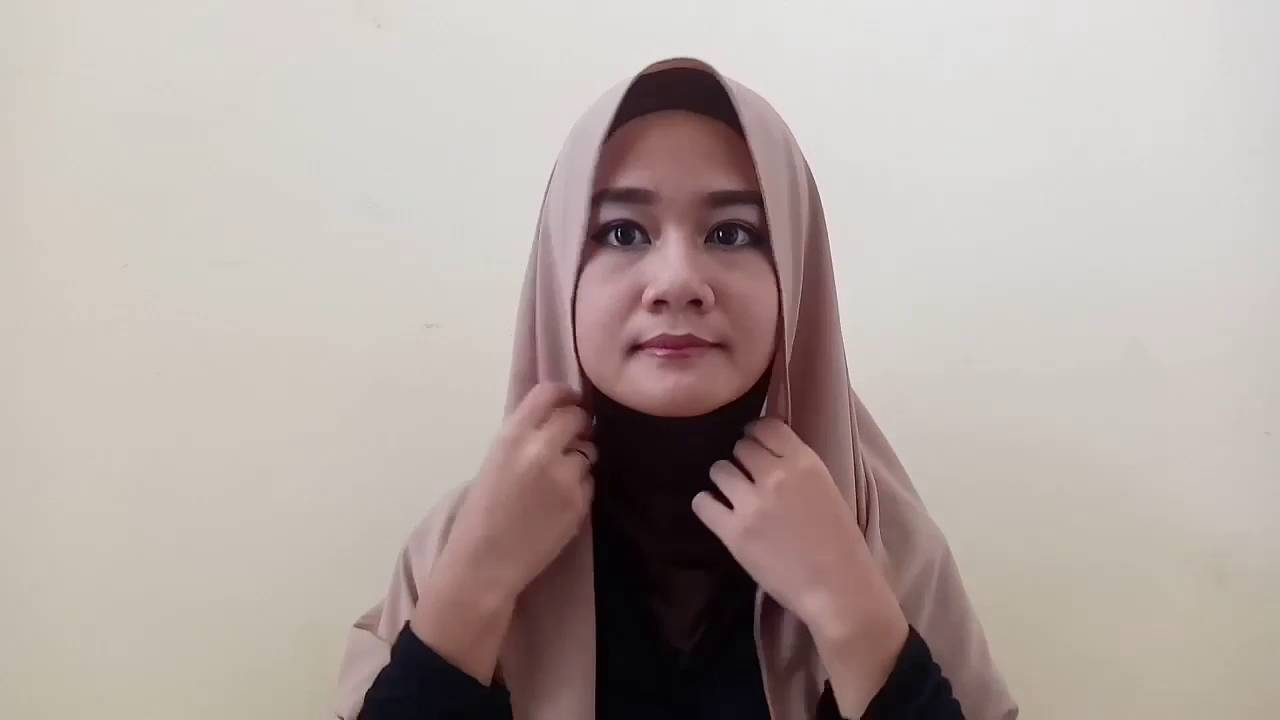 Hijab Tutorial Jilbab Paris Dan Headband By Natasya Farani 2016