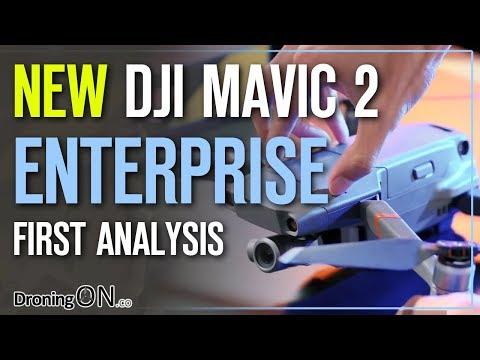 DJI Mavic 2 Enterprise Launched - Auto-Warming Batteries, 24Gb & Addons!