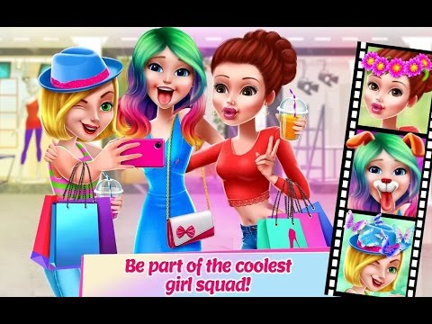 Girl Squad BFF in Style, Super Cool Girl , Shopping, Clothes, Fashion Show / Coco Play Girls Games