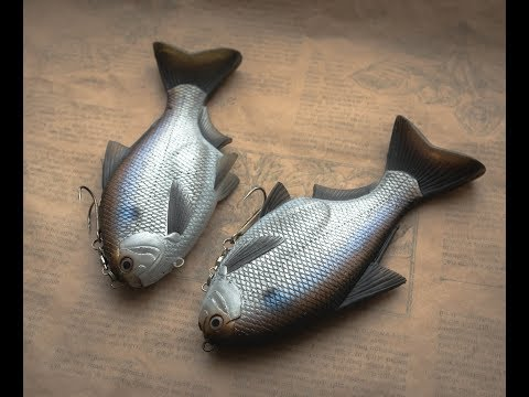 Lure Making | Lets Make A Gizzard Shad Softbait