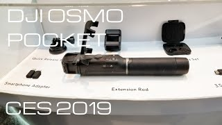 DJI Osmo Pocket Charging Station / Selfie stick tripod and More from CES 2019