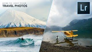 how to EDIT your TRAVEL PHOTOS like CHRIS BURKARD | Lightroom Tutorial