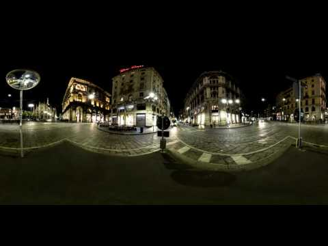insight: Milano Traffic 360° Timelapse