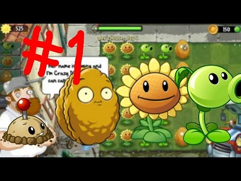 Растения против зомби 2 на планшете  #1 начало Египта 1- 6 Day и мой дом