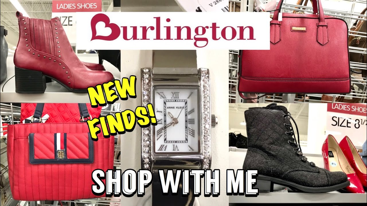 Burlington SHOP WITH ME Designer Handbags Shoes & Fashion Jewelry