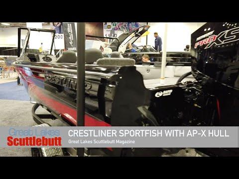 Crestliner Sportfish With AP-X Hull! Innovation Award Winner @The 2020 Minneapolis Boat Show!