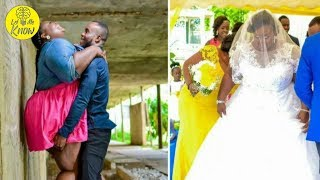Woman shamed after posting engagement photos has perfect response