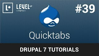Drupal Tutorials #39 - Quicktabs