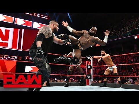 Bobby Roode & Titus Worldwide vs. Mojo Rawley & The Authors of Pain: Raw, Aug. 13, 2018
