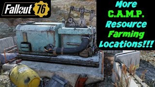 Fallout 76: More CAMP Resource Farming Locations!