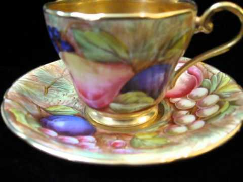 EXPENSIVE OLD FINE CHINA FROM ENGLAND,MAJOR SCORE  ROYAL WORCHESTER & ANSLEY, On CA PICKIN