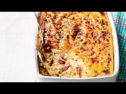 Smoky Sausage-and-Grits Casserole | Southern Living