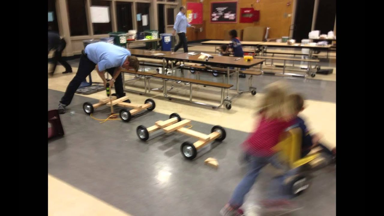 how to make a soap box derby car go faster