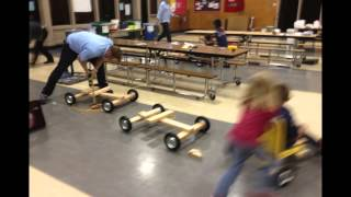 Cub Scouts Build Push Go-karts & Practice Runs For Rio Vista Soap Box Derby