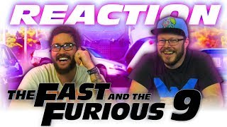 F9 - Official Trailer REACTION!!