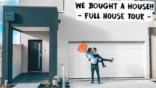 WE BOUGHT A HOUSE!! - Full House Tour -