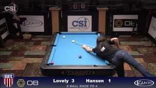 2015 USBTC 8-Ball: Taylor Hansen vs Liz Lovely