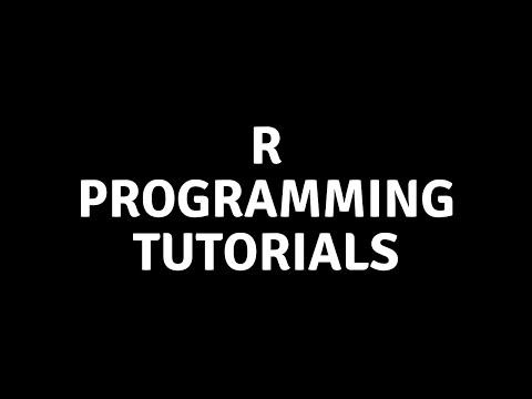 R Programming Tutorials For Beginners   Tech Tian thumbnail