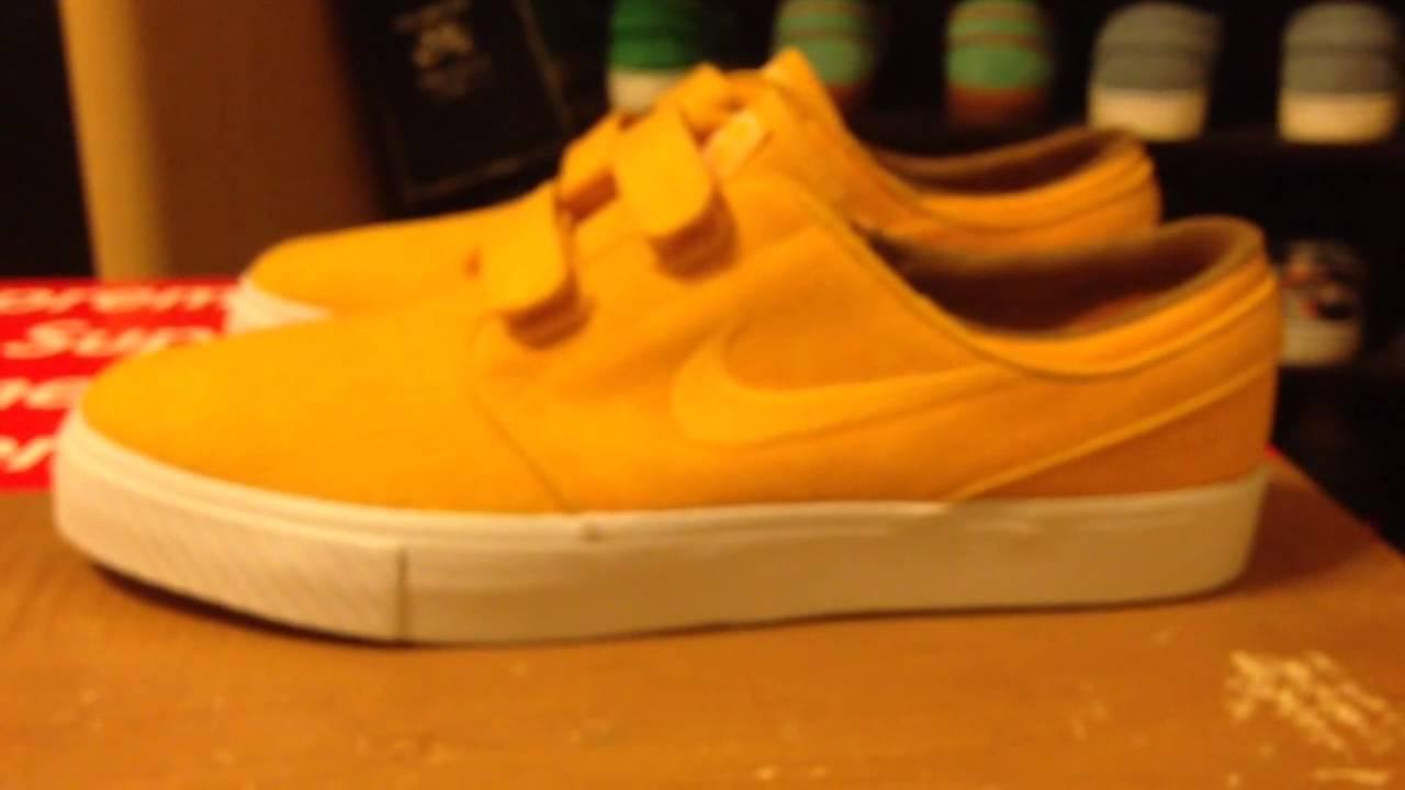 nike sb janoski yellow