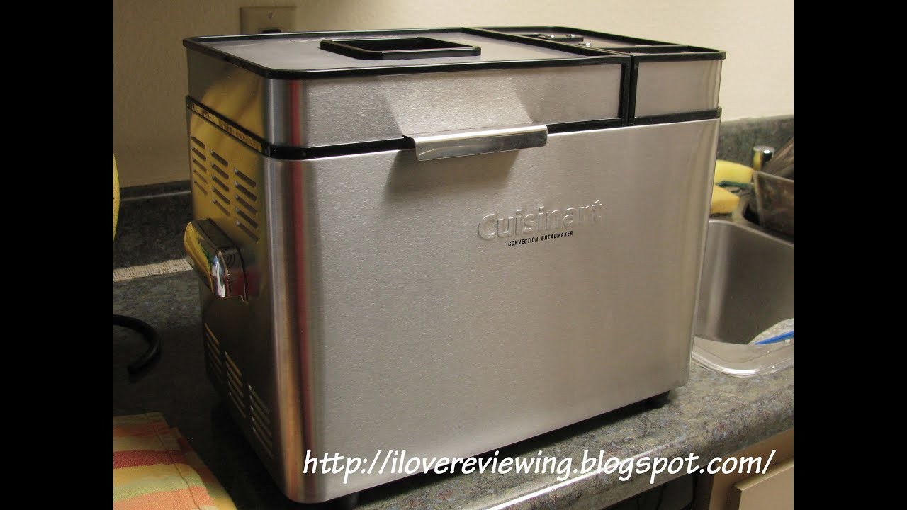 cuisinart convection breadmaker review youtube rh youtube com cuisinart convection bread maker user manual cuisinart convection bread maker instructions