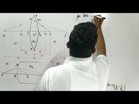 Complete Optics ( 12th Class Physics ) (Refraction) Lecture part - 9 ( CBSE Board )