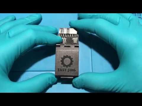 Распаковка Easy Jtag Plus BGA-153 Soket Adapter UFS