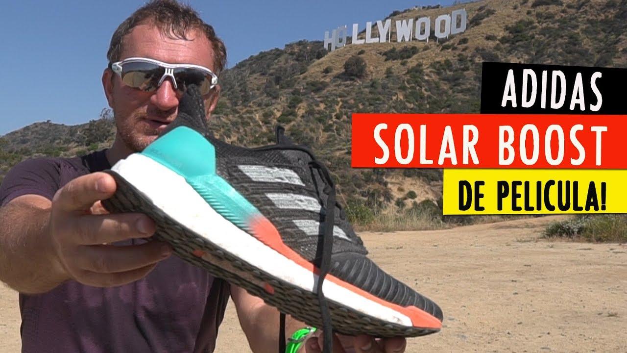 asistent erozija svet  ADIDAS SOLAR BOOST: primeras impresiones de una zapatilla de película -  YouTube