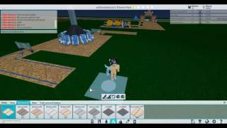 Building my own park! - Theme Park Tycoon 2 | Roblox (KCC Plays)