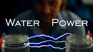 مولد البرق مصنوع من الماء (مولد ماركس DIY)
